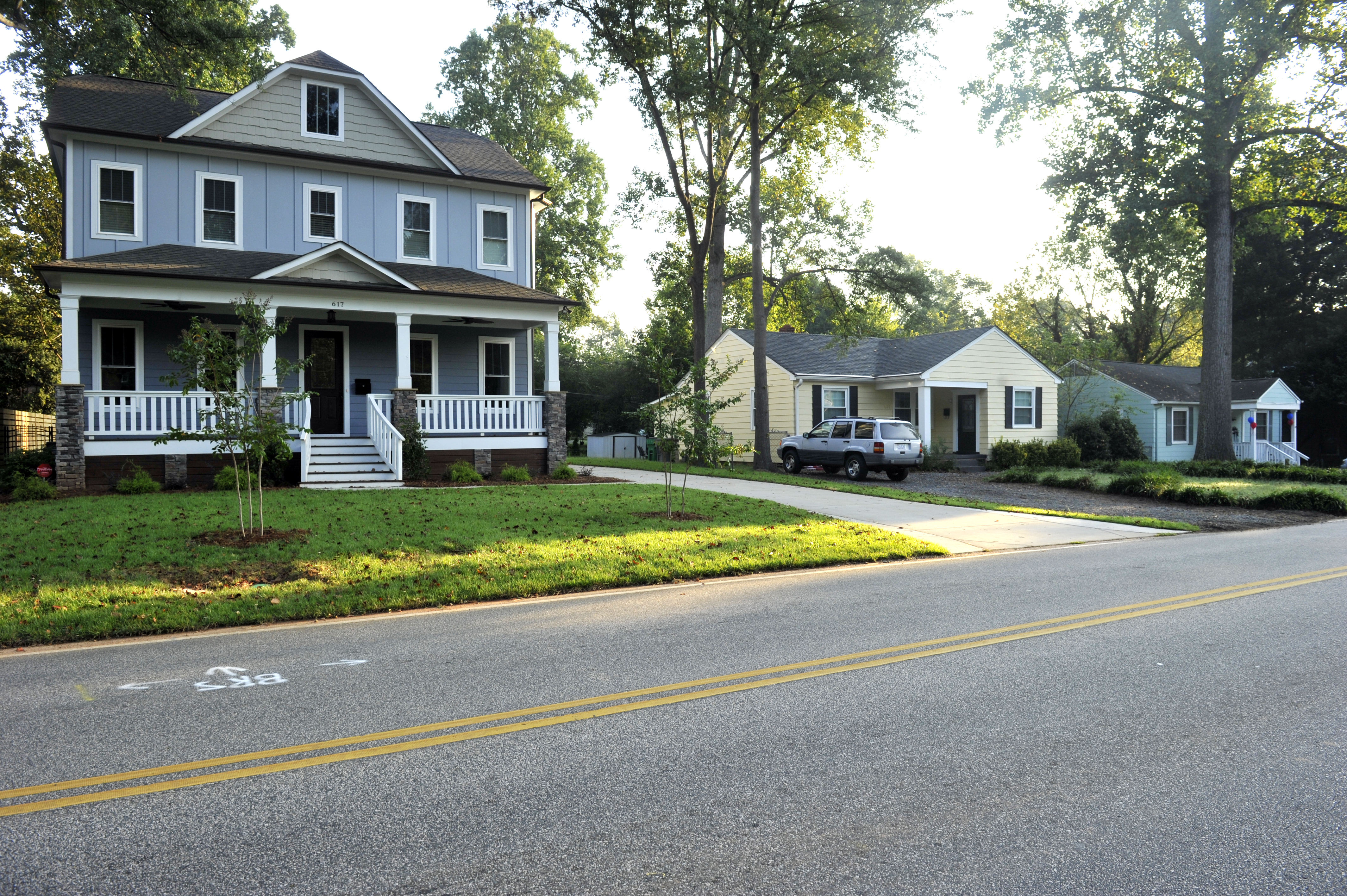 Homes in Dilworth, Charlotte NC