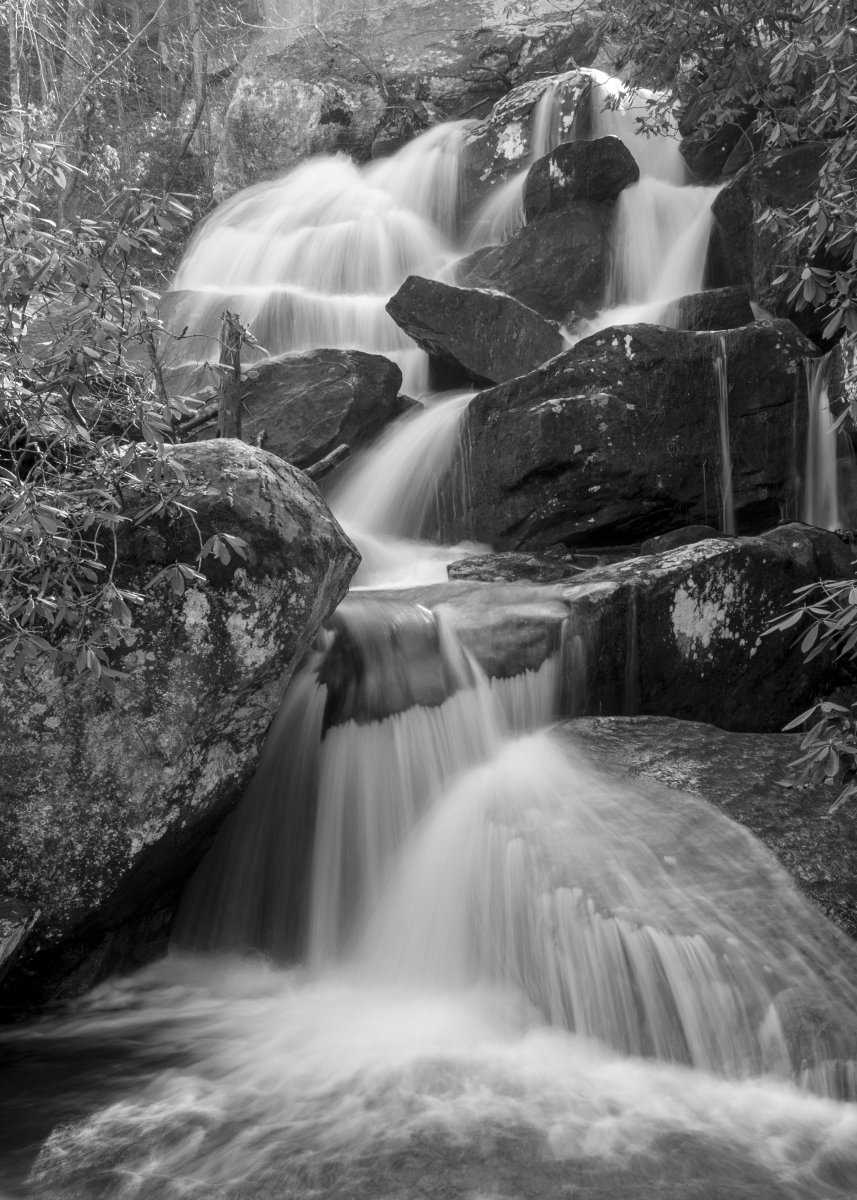 A branch of High Shoals Falls in South Mountains State Park. Photo: Ely Portillo