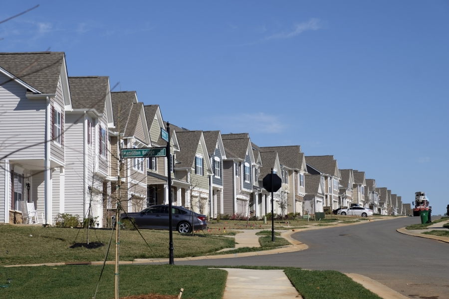Berewick development in Charlotte