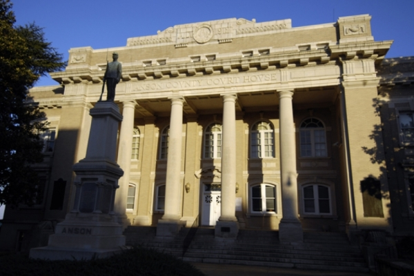 Anson County Courthouse in Wadesboro.
