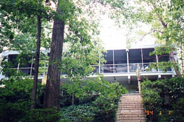 3714 Country Ridge Road in the Mountainbrook neighborhood Built in 1963; designed by architect Praise Connor Lee Designated in 2002