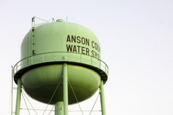 Anson County Water System tower