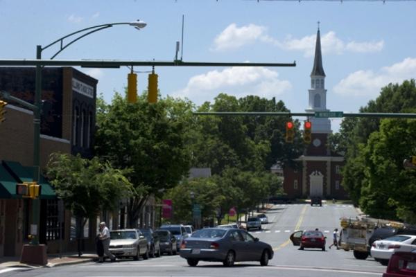 Main Street, downtown Monroe.