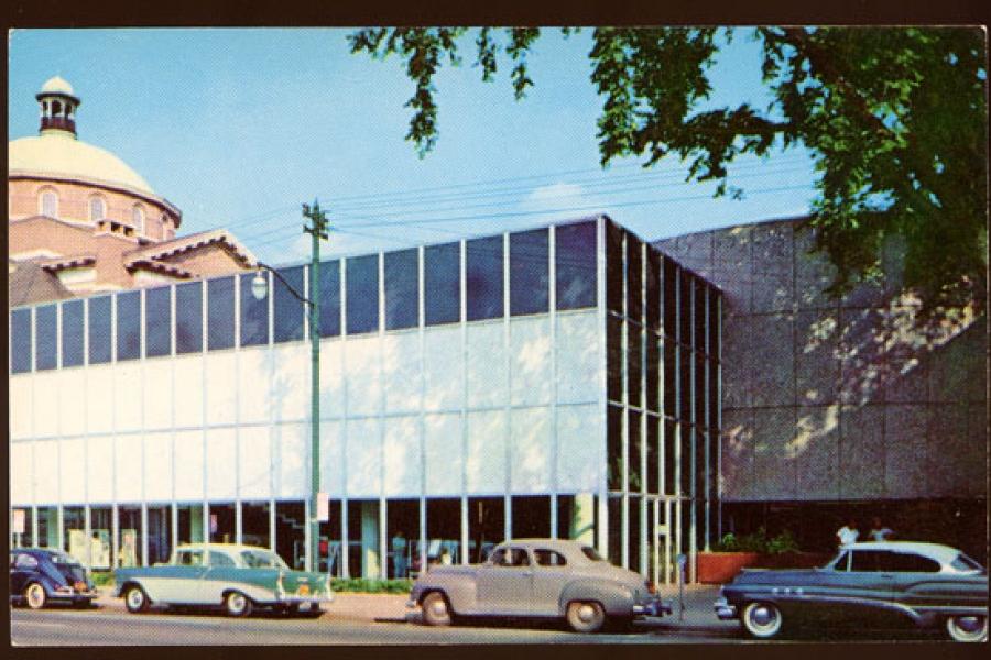 1956 Charlotte Main Library