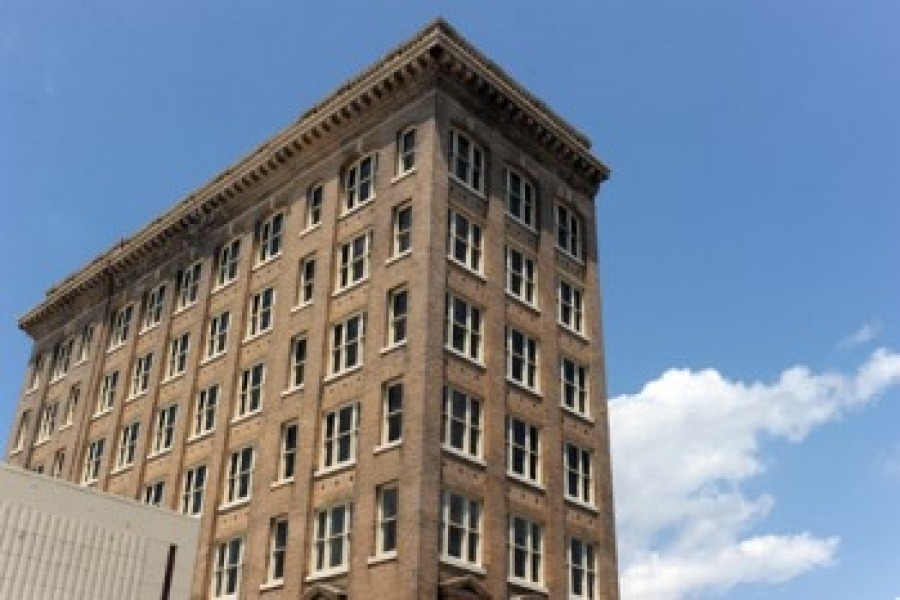 Lawyers Building, built 1917 on Main Street in downtown Gastonia.