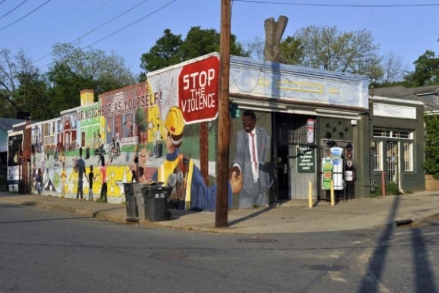 Belmont: Northside Corner store at Kennon and Pegram streets.
