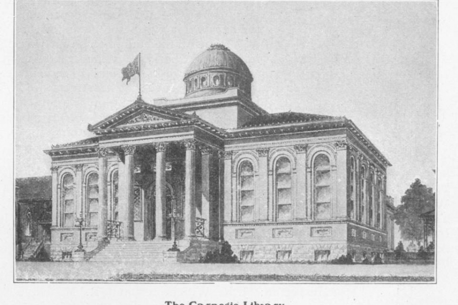 The 1903 Carnegie Library in Charlotte