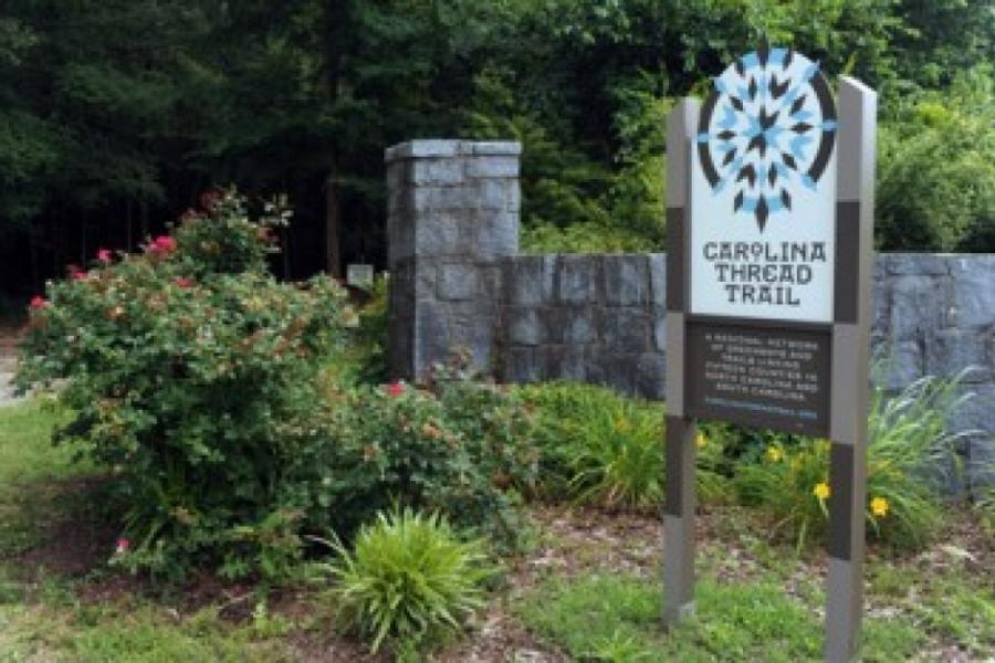 Carolina Thread Trail in Chester County SC.