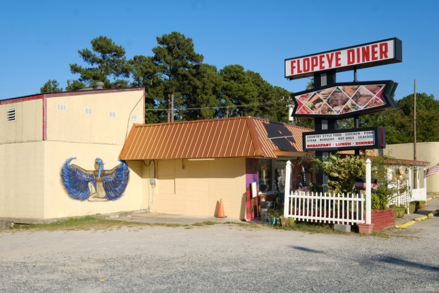 The Flopeye Diner in Great Falls, S.C. Photo: Nancy Pierce