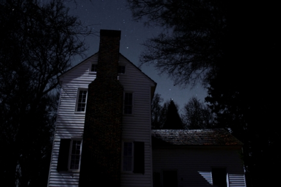 Winner, by Kevin Beaty  A spooky look at the historic Hugh Torance House in north Mecklenburg County. Photo: Kevin J. Beaty