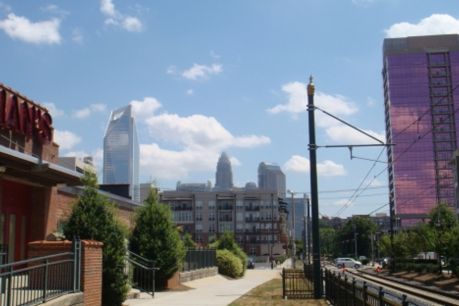 Charlotte Skyline from Southend.