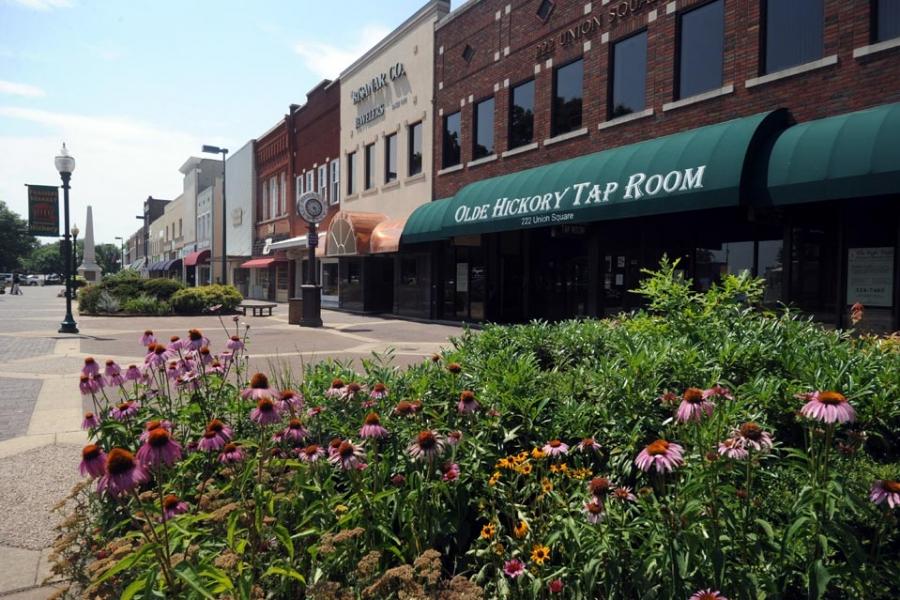 Downtown Hickory, Union Plaza