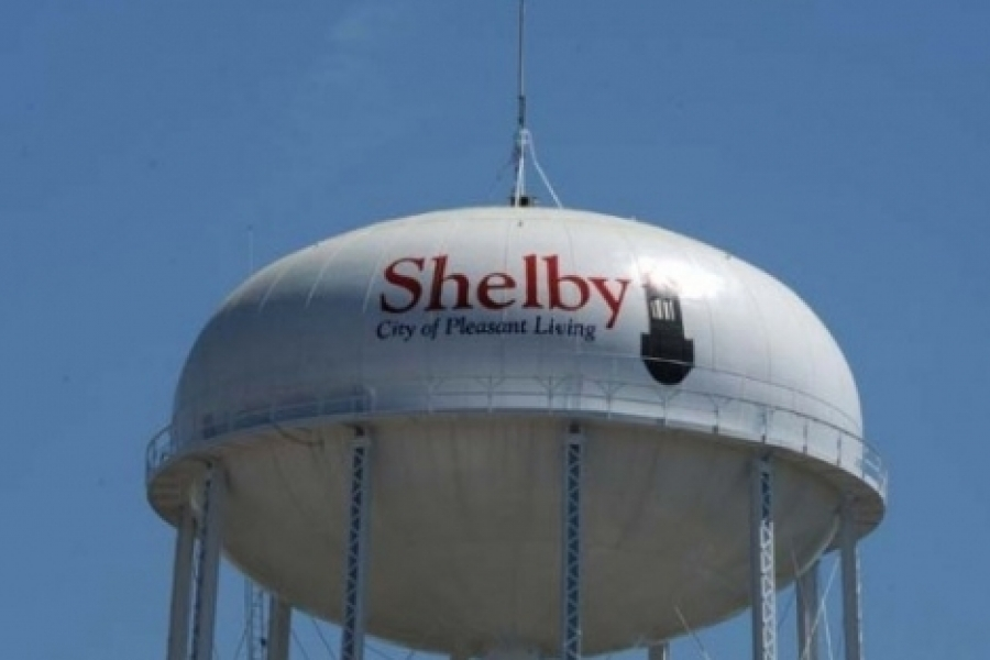 """Shelby, the """"City of Pleasant Living,"""" in Cleveland County"""