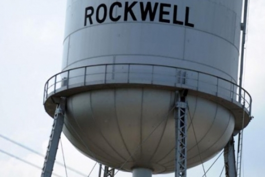 The town of Rockwell's tower in Rowan County