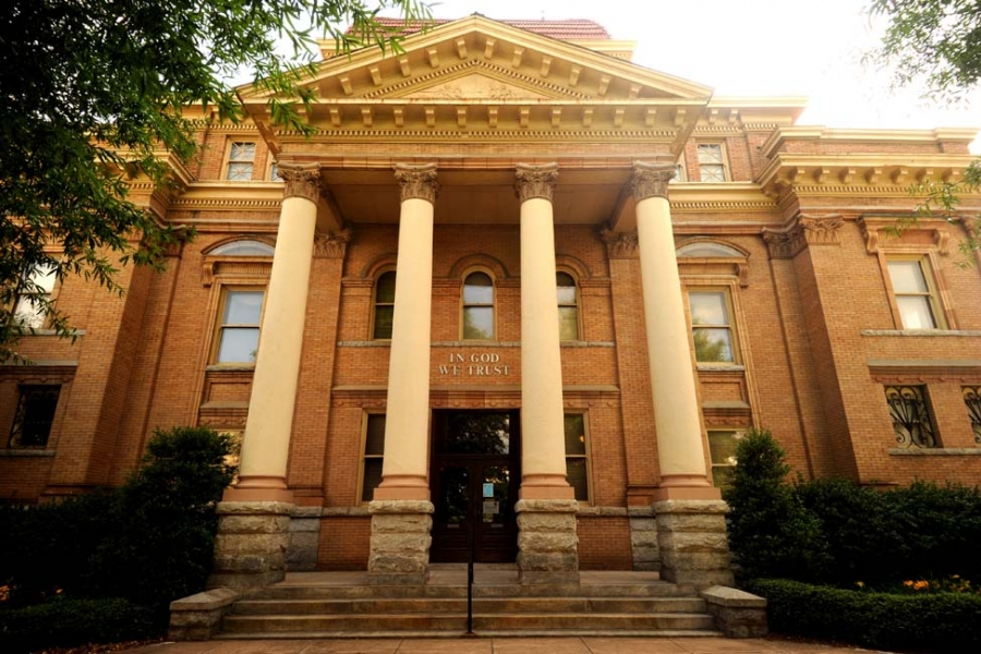Iredell County Courthouse is used for government offices. It is on the National register of Historic Places.
