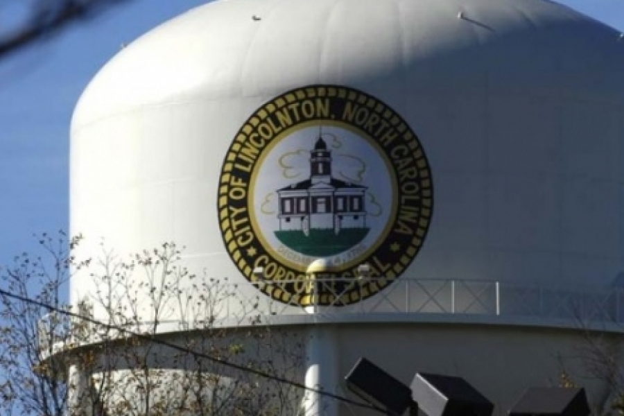 The city of Lincolnton in Lincoln County displays the city seal.