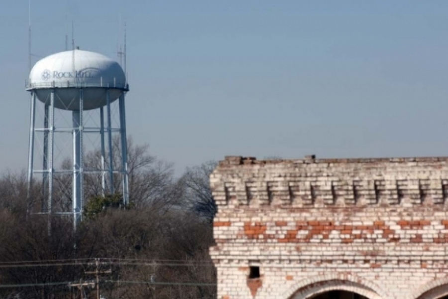 Rock Hill's tower in York County