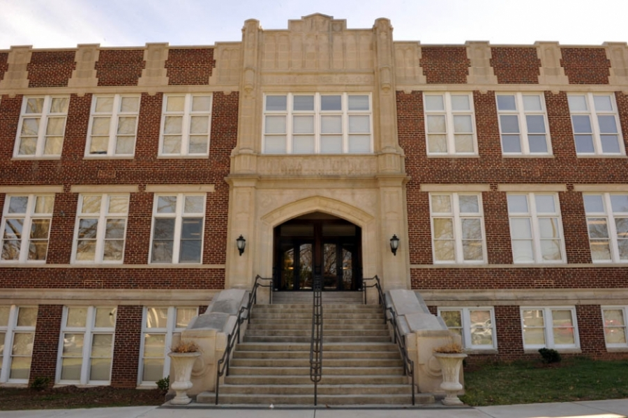 Old Albemarle High School (opened 1924), renovated in 2007 to become Central Elementary.