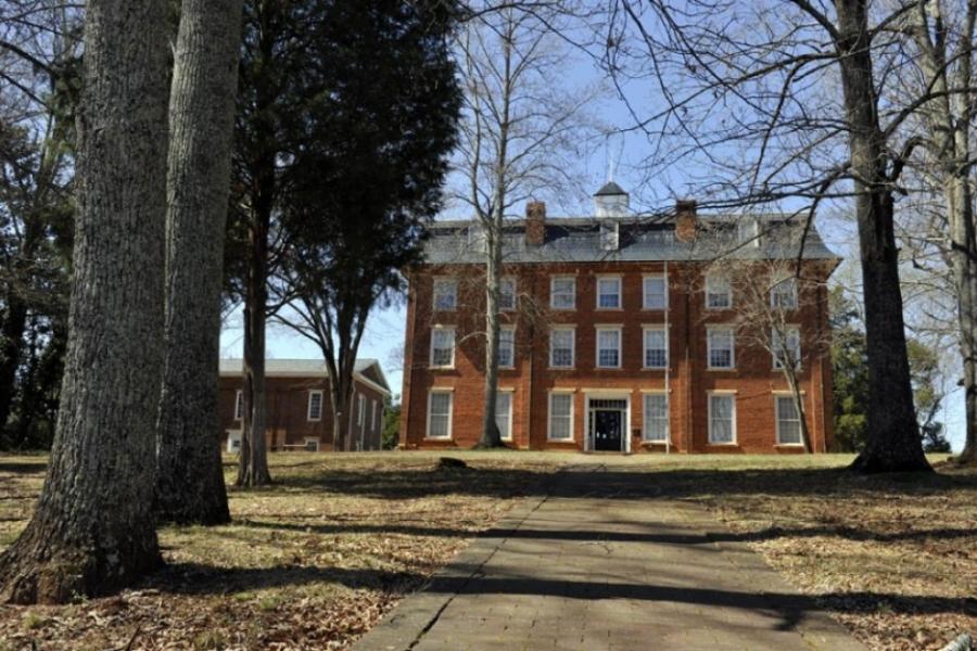 Western Carolina Male Academy, now Eastern Cabarrus Historical Society, built 1855.