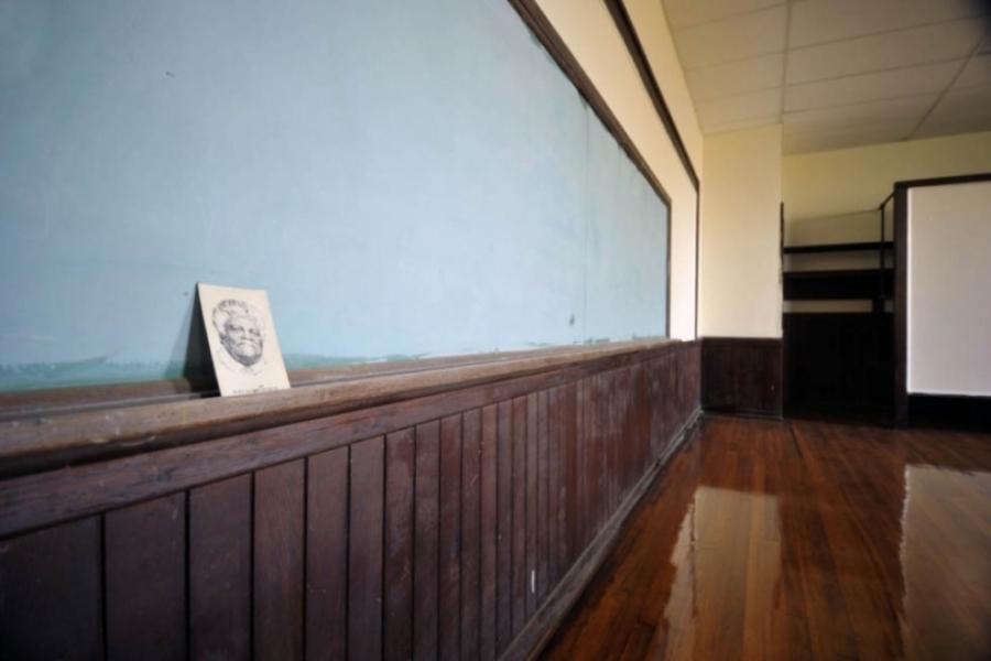 Norwood Black School, interior.