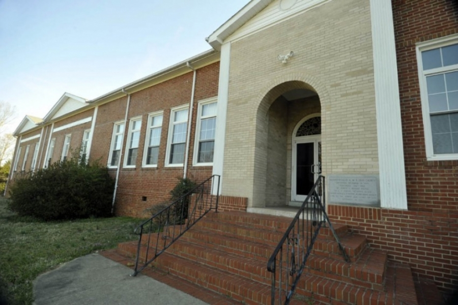 Norwood Black School, built 1917 in Stanly County, now Bennetsville AME Zion Church.