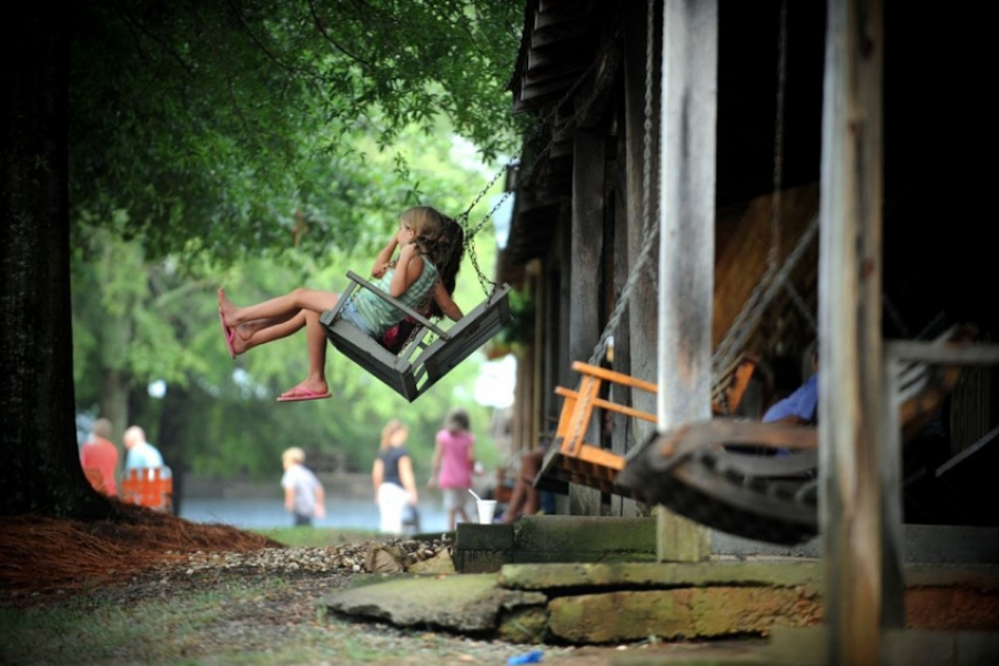 New faces, old traditions, at Rock Springs Camp Meeting in Lincoln County.