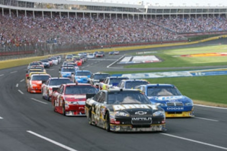 The Coca Cola 600 at Charlotte Motor Speedway (photo courtesy of Charlotte Motor Speedway).