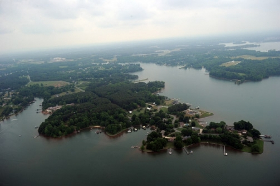 Lake Norman in southern Iredell County.