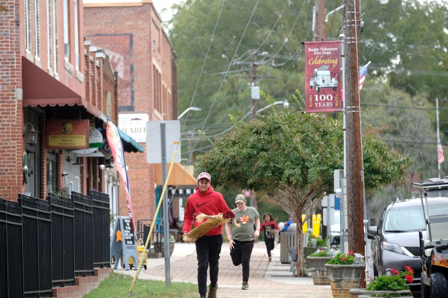 Downtown Badin, NC. Photo: Nancy Pierce