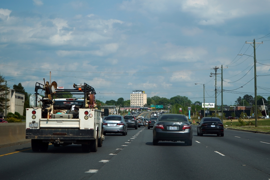 Independence Boulevard in Charlotte