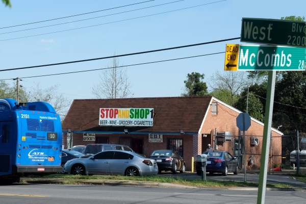 A convenience store in West Charlotte